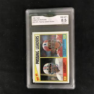 1984 TOPPS #202 NFL PASSING LEADERS ROOKIE (D. MARINO/