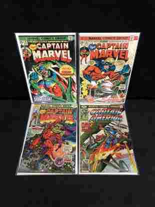 CAPTAIN MARVEL COMIC BOOK LOT (MARVEL COMICS)