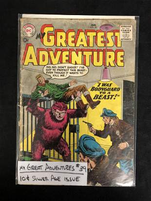 MY GREATEST ADVENTURES #39 (DC COMICS)