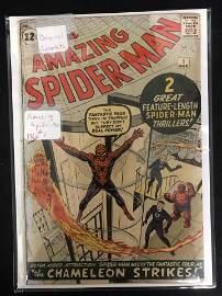 THE AMAZING SPIDER-MAN #1 (MARVEL COMICS) 1963