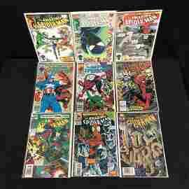 ASSORTED SPIDER-MAN COMIC BOOK LOT (MARVEL COMICS)