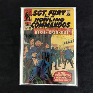 SGT. FURY and his HOWLING COMMANDOS #35 (MARVEL COMICS)