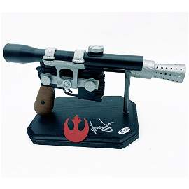 Harrison Ford Autographed Full-Size Replica Han Solo