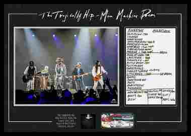The Tragically Hip Framed Final Show in Kingston Final