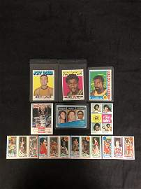GREAT BASKETBALL CARD PACKAGE (CHAMBERLAIN, MALONE,