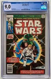 STAR WARS #1 CGC 9.0 (MARVEL COMICS) 1977