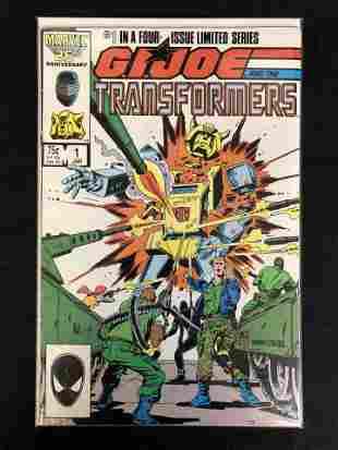 G.I. JOE AND THE TRANSFORMERS #1 (MARVEL COMICS)