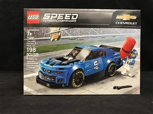 "LEGO: SPEED CHAMPIONS ""CHEVROLET CAMARO ZL1"" BUILDING"