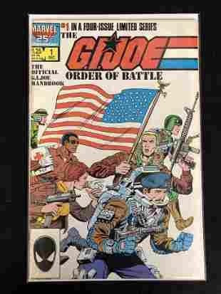 THE G.I. JOE ORDER OF BATTLE #1 (MARVEL COMICS)