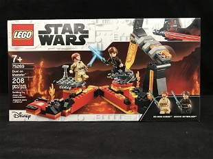 "LEGO: STAR WARS ""DUEL ON MUSTAFAR"" BUILDING TOY"
