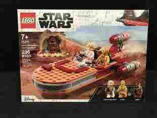 "LEGO: STAR WARS ""LUKE SKYWALKER'S LANDSPEEDER"" BUILDING"