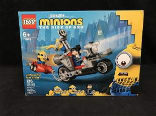 """LEGO: THE MINIONS RISE OF GRU """"UNSTOPPABLE BIKE RACE"""""""