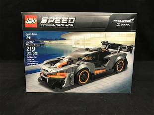 "LEGO: SPEED CHAMPIONS ""McLAREN SENNA"" BUILDING TOY"