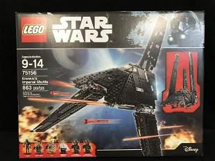 """LEGO: STAR WARS """"KRENNIC'S IMPERIAL SHUTTLE"""" BUILDING"""