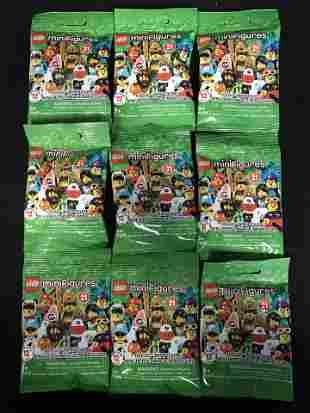 LEGO MINIFIGURES LOT (71029) x9