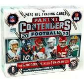 2020 PANINI NFL CONTENDERS FOOTBALL HOBBY BOX (SEALED)