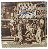 ALICE COOPER AUTHENTIC SIGNED GREATEST HITS ALBUM COVER