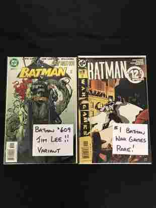 BATMAN #609/ BATMAN #1 War Games (DC COMICS)