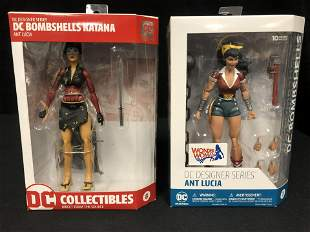 DC COLLECTIBLES BOMBSHELL SERIES VINYL FIGURINES NEW IN