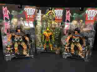 2000 AD COLLECTOR'S SERIES TOY FIGURES LOT