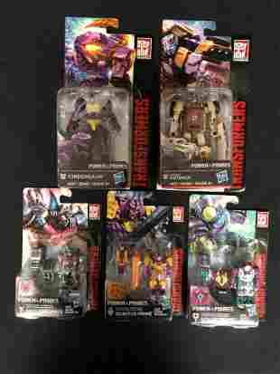TRANSFORMERS GENERATIONS POWER OF THE PRIMES LOT