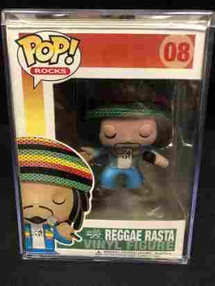FUNKO POP #8 REGGAE RASTA VINYK FIGURE