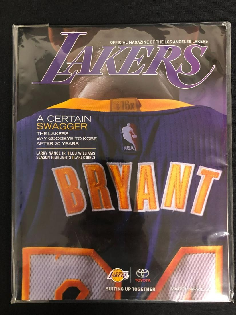 L.A LAKERS OFFICIAL MAGAZINE OF THE LOS ANGELES LAKERS