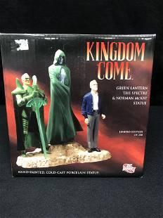 "DC DIRECT HAND PAINTED PORCELAIN STATUE "" KINGDOM COME"""