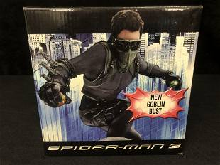 NEW IN BOX SPIDER-MAN 3 NEW GOBLIN BUST