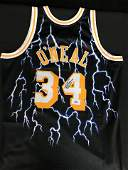 AUTHENTIC SHAQUILLE ONEAL MITCHELL AND NESS LIGHTNING L