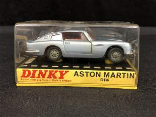 VINTAGE DINKY ASTON MARTIN DB6 MINT IN BOX