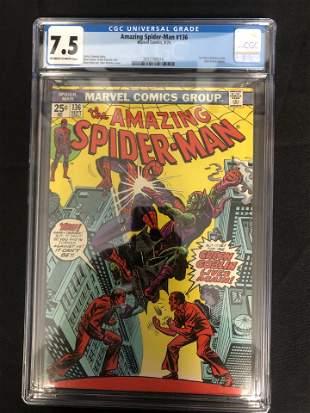 MARVEL COMICS AMAZING SPIDER-MAN NO.136 ( CGC 7.5)