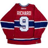 HENRI RICHARD SIGNED MONTREAL CANADIENS CCM JERSEY