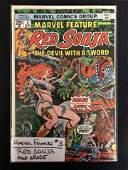 MARVEL FEATURE #3 RED SONJA (MARVEL COMICS)