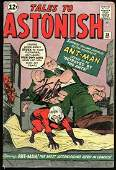 MARVEL COMICS TALES OF ASTONISH NO. 38 SIGNED BY STAN