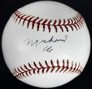 Muhammad Ali Signed Authentic OML 2003 World Series