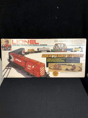 LIONEL THE BIG TRAIN FOR SMALL HANDS ELECTRIC TRAIN SET