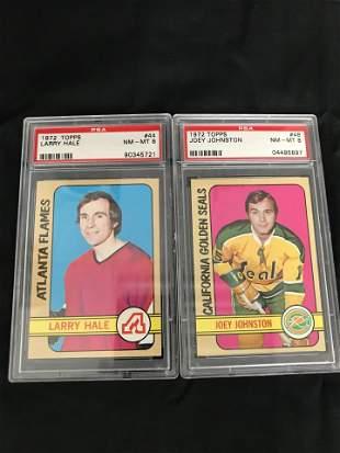 1972 TOPPS PSA GRADED CARD LOT