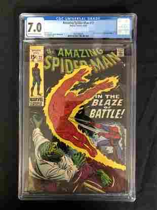 The AMAZING SPIDER-MAN #77 CGC GRADE 7.0 (MARVEL