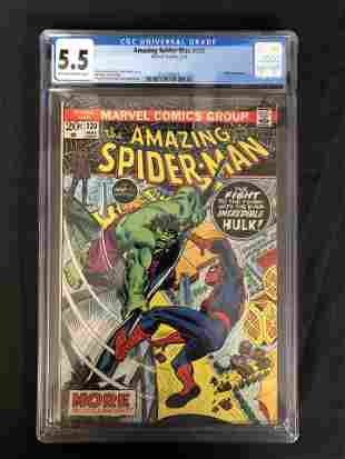 The AMAZING SPIDER-MAN #120 CGC GRADE 5.5 (MARVEL
