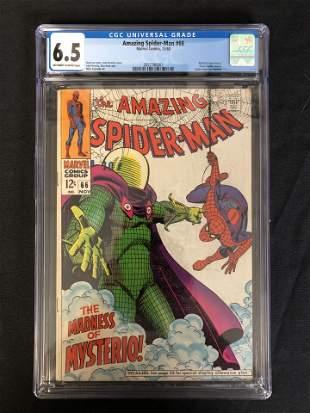 The AMAZING SPIDER-MAN #66 CGC GRADE 6.5 (MARVEL