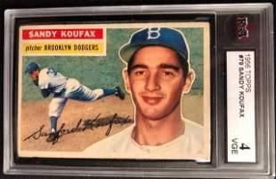 1956 TOPPS #79 SANDY KOUFAX (KSA 4)