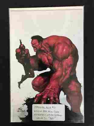MARVEL COMICS IMMORTAL HULK NO. 21 ( LIMITED VIRGIN RED