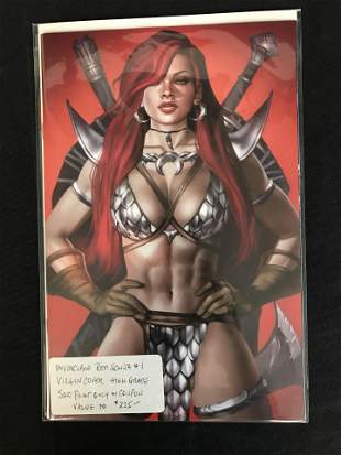MARVEL COMICS RED SONJA NO VIRGIN COVER ( LIMITED TO