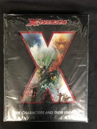 X-MEN THE CHARACTORS AD THEIR UNIVERSE HARD COVER
