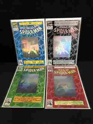 THE SPECTACULAR SPIDER-MAN COMIC BOOK LOT (MARVEL