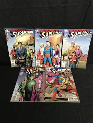 SUPERMAN SECRET ORIGIN #1-5 (DC COMICS)