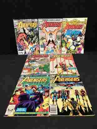 The AVENGERS COMIC BOOK LOT (MARVEL COMICS)