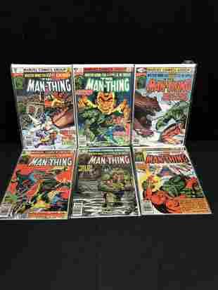 THE MAN-THING COMIC BOOK LOT (MARVEL COMICS)