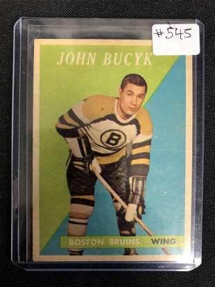 1958 Topps #40 Johnny Bucyk